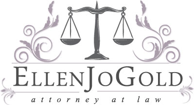 ellen jo gold nj attorney logo